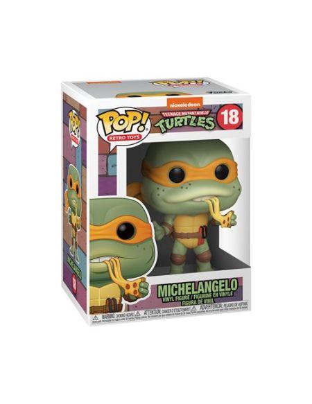 Figurine Funko Pop Retro Toys Teenage Mutant Ninja Turtles Michelangelo