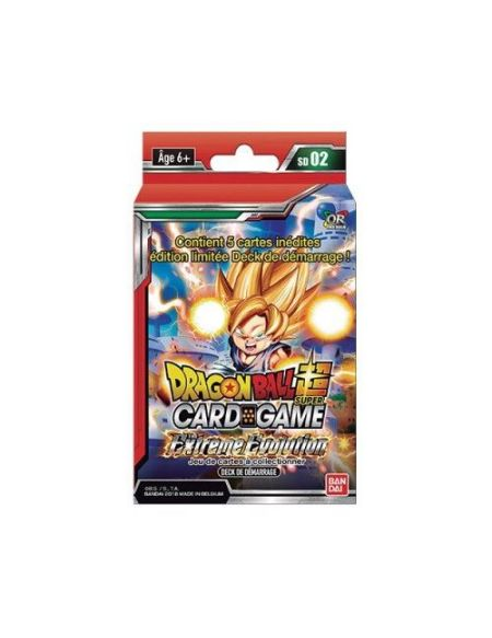 Starter Pack - Dragon Ball Super - Série 2 - The Extreme Evolution