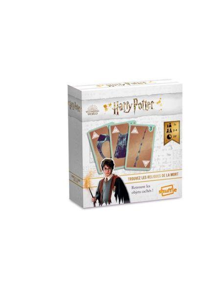 Jeu de cartes Cartamundi Harry Potter Trouvez les Reliques de la mort