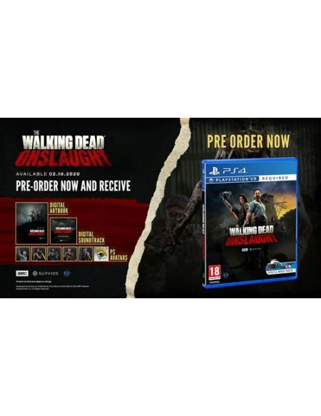 The Walking Dead Onslaught Survivor Edition PS4