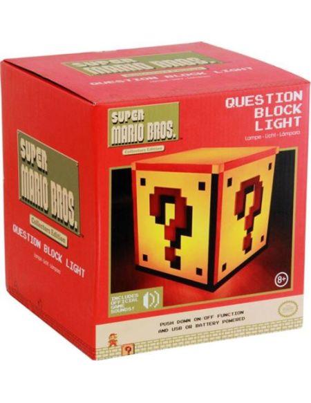 Lampe USB Super Mario Bros Question Block