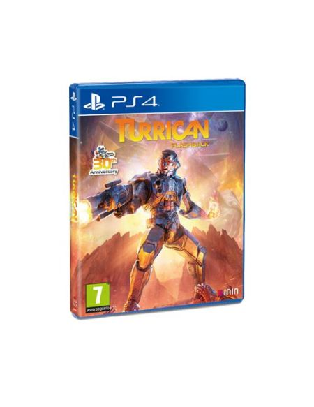 Turrican Flashback PS4