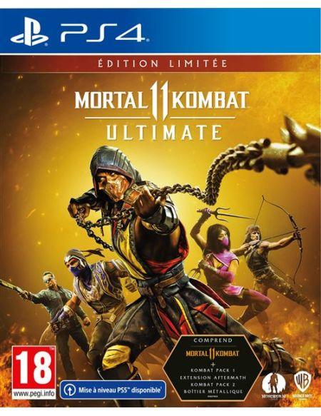 Mortal Kombat 11 Ultimate - Edition Limitée PS4