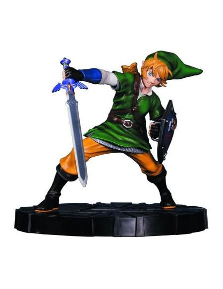Figurine Zelda Link en mouvement Edition Collector 24 cm