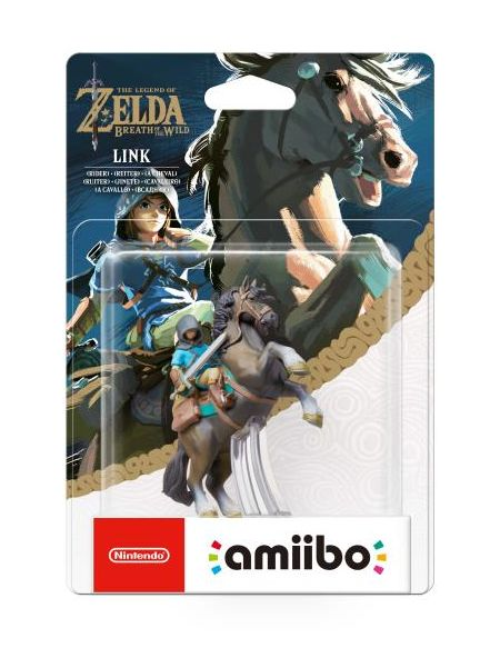 Figurine Amiibo The Legend of Zelda Link Rider