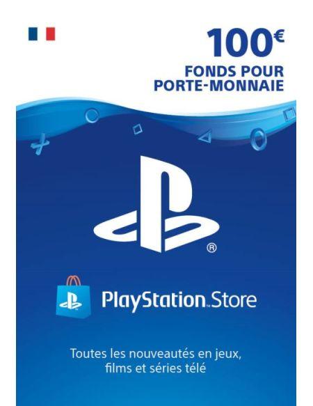 Code de téléchargement Playstation Store Fonds pour Porte-Monnaie virtuel 100