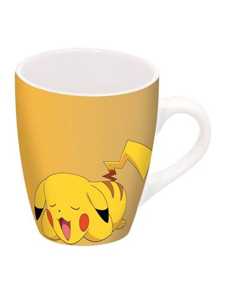 Mug Barrel en porcelaine Pokémon Pika Dormant
