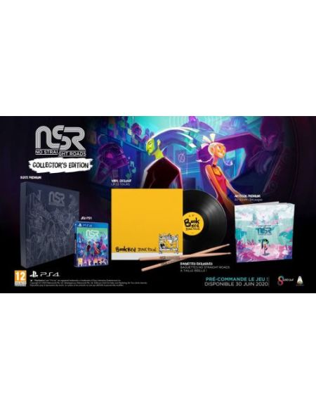 No Straight Roads Collector's Edition Pack PS4