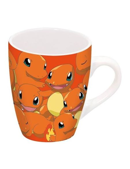 Mug Barrel en porcelaine Pokémon Salamèche
