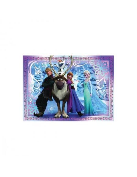 Puzzle 45 pièces Nathan Une équipe formidable Disney La Reine des Neiges