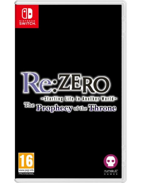 Re:ZERO Starting Life in Another World The Prophecy of the Throne Badge Edition Nintendo Switch