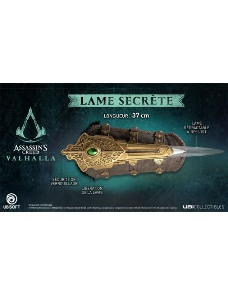 Figurine Assassin's Creed Valhala Lame secrète d'Eivor