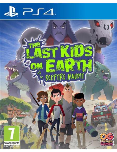 The Last Kids on Earth et Le Sceptre Maudit PS4