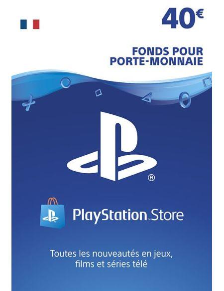 Code de téléchargement Playstation Store Fonds pour Porte-Monnaie virtuel 40€