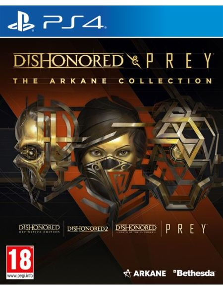 Dishonored & Prey : The Arkane Collection Edition Bundle PS4