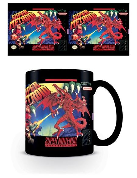 Mug Super Nintendo Super Metroid 315 ml