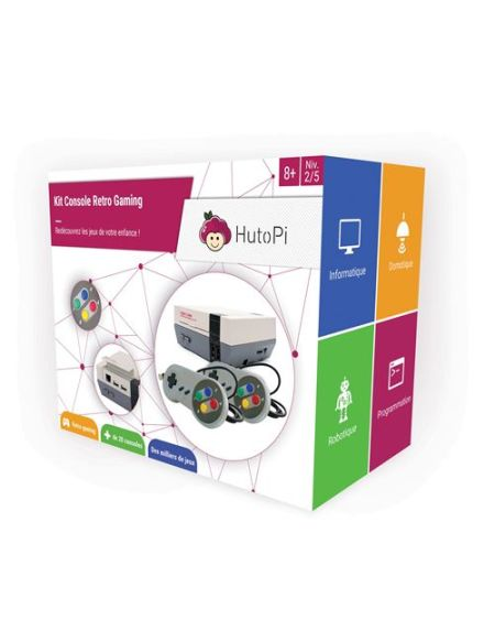 Kit HutoPi Console Retro Gaming