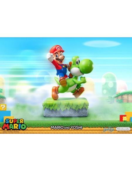 Figurine Nintendo Mario et Yoshi 48 cm