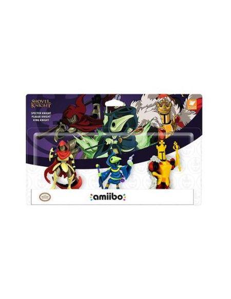 Pack de 3 Figurines Amiibo Shovel Knight Treasure Trove