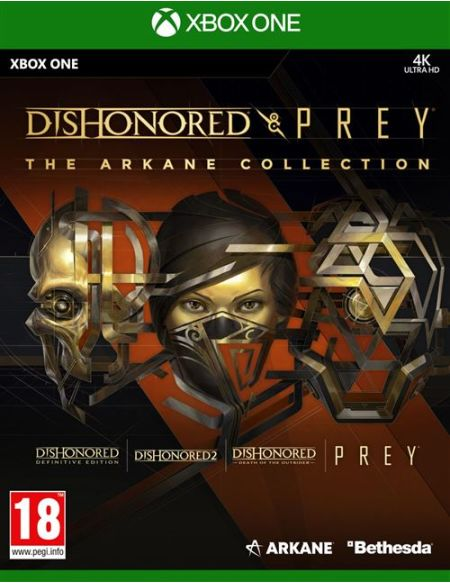 Dishonored & Prey : The Arkane Collection - Edition BundleDishonored & Prey : The Arkane Collection Edition Bundle Xbox One