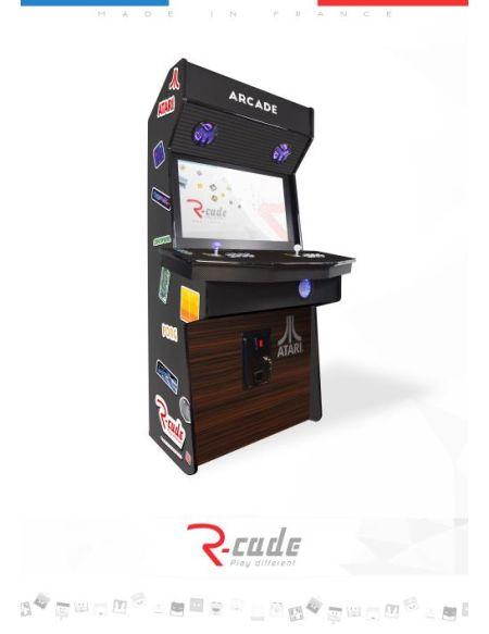 Borne d'arcade R-Cade Jamma Elite avec Habillage Atari 2600