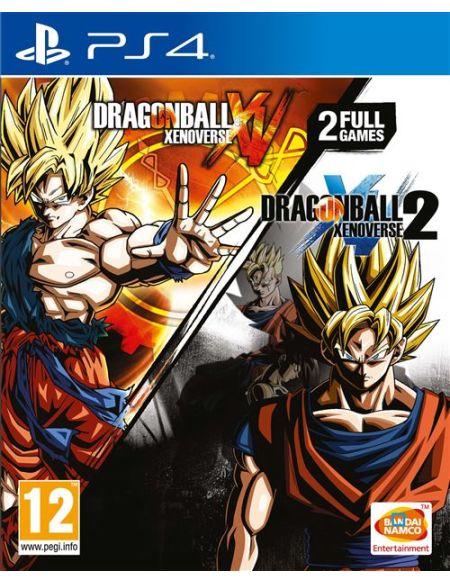 Dragon Ball Xenoverse + Dragon Ball Xenoverse 2 PS4