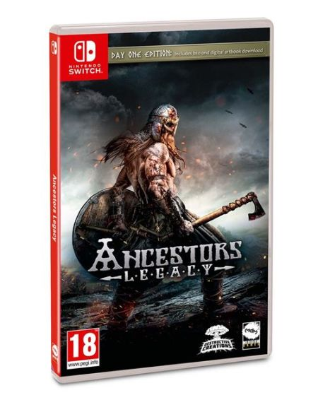Ancestors Legacy Day One Edition Nintendo Switch
