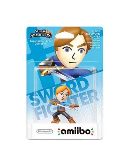 Figurine Nintendo Amiibo Epéiste Mii