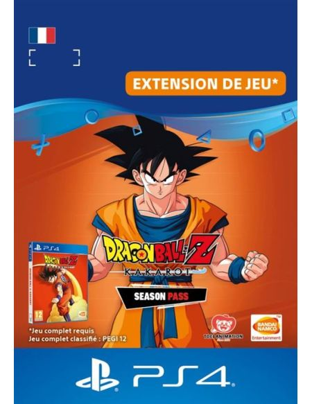 Season Pass Dragon Ball Z : Kakarot PS4