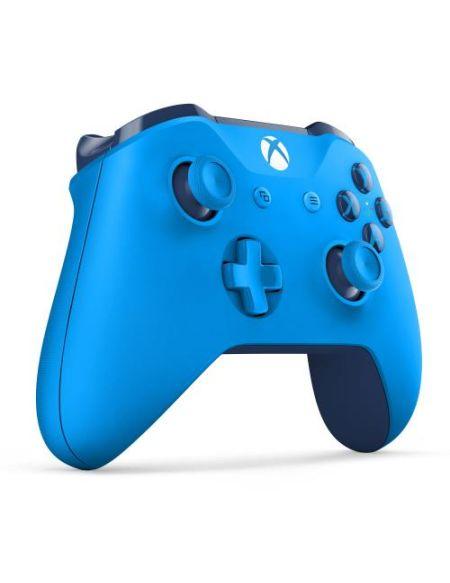 Manette Xbox One Microsoft sans fil Bleu