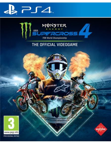 Monster Energy Supercross 4 - The official videogame PS4