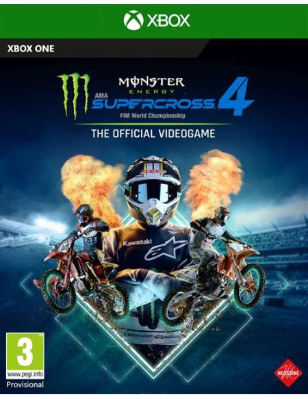 Monster Energy Supercross 4 - The official videogame Xbox One
