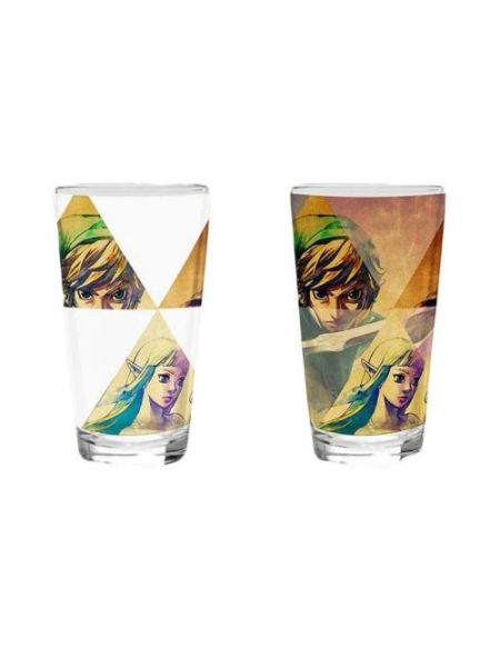 Verre Thermosensible Legend of Zelda Hyrule 450 ml