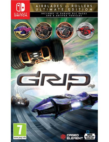 GRIP Combat Racing Rollers vs AirBlades Edition Ultimate Nintendo Switch