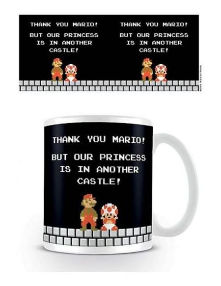 Mug Super Mario Another Castle