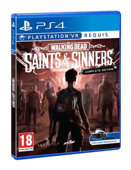 The Walking Dead Saints and Sinners Complete edition PS4