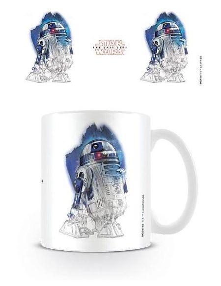 Mug Star Wars The Last Jedi R2-D2 Brushstroke 315 ml