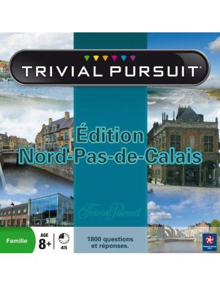 Jeu de société Trivial Pursuit Edition Nord-Pas-de-Calais Winning Moves