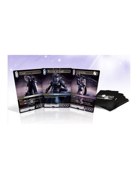 Bonus de commande Pack Carte Dissidia Final Fantasy