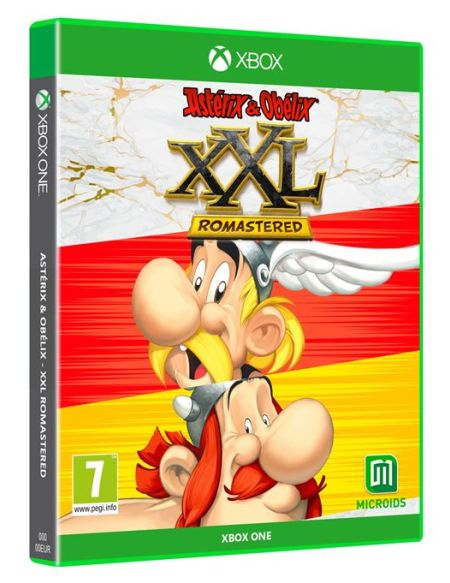 Asterix et Obelix XXL Romastered Edition Limitée Xbox One