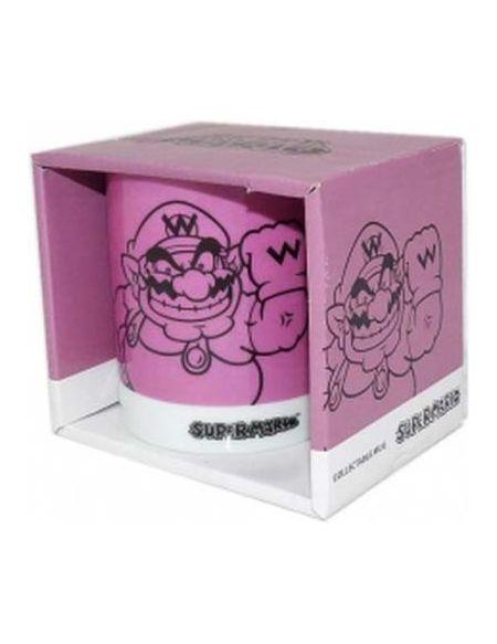 Mug Wario 2D Edition Super Mario