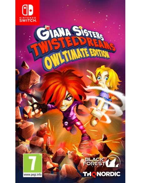 Giana Sisters Twisted Dreams Owltimate Edition Nintendo Switch