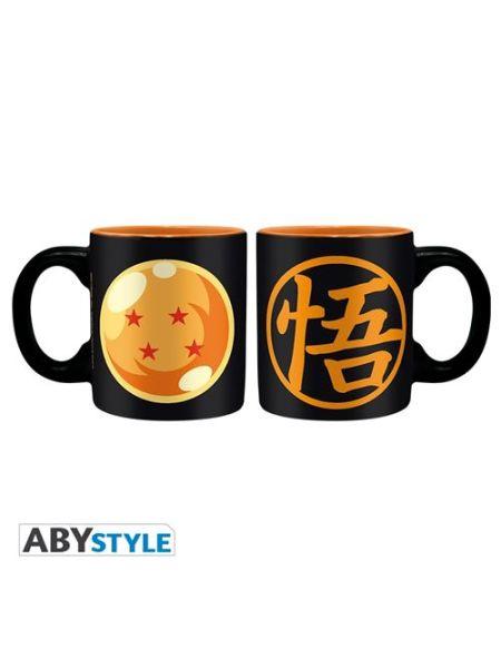 Set 2 mini-mugs Dragon Ball Z Bouble de cristal et Kame 110 ml