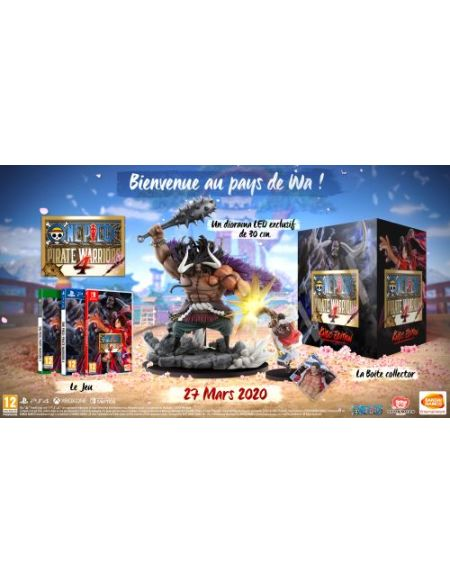 One Piece Pirate Warriors 4 Edition Collector Nintendo Switch