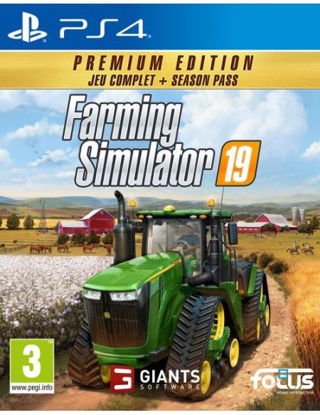 Farming Simulator 19 Edition Premium PS4