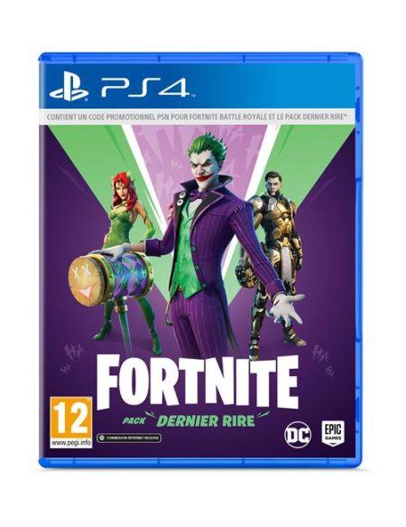 Fortnite : Pack Dernier Rire PS4