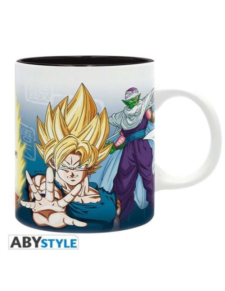 Mug Dragon Ball Z Saiyans & Piccolo 320 ml