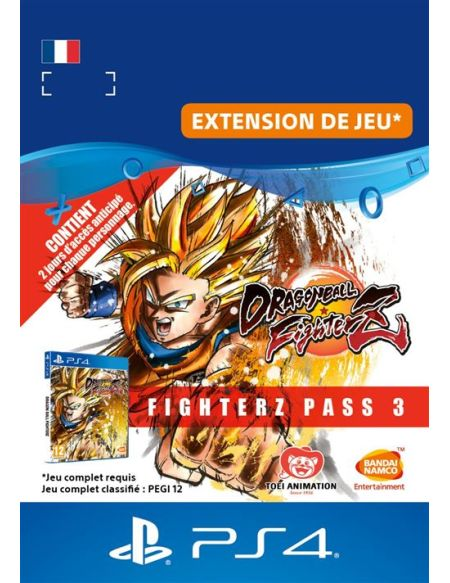 Dragon Ball Fighterz - Fighterz Pass 3 PS4