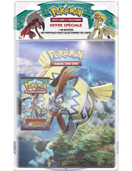 Pack Cahier & Booster - Pokémon Soleil & Lune 02