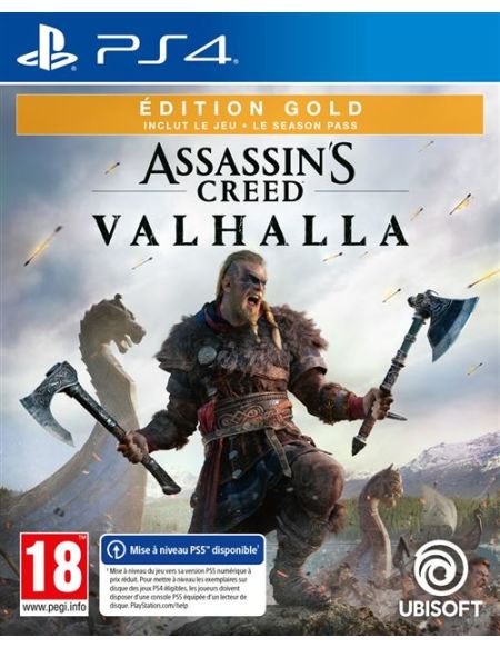 Assassin's Creed Valhalla Edition Gold PS4